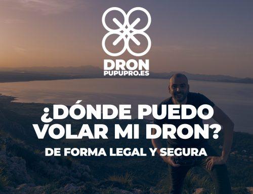 ¿Dónde volar mi dron en Valencia?